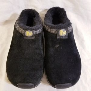 Girls Merrell Slip On Suede Sneakers Clogs Mules